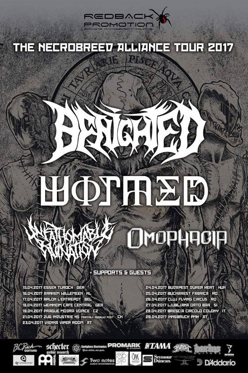 Benighted Tour 2017