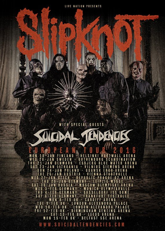 Slipknot 2016 Londres