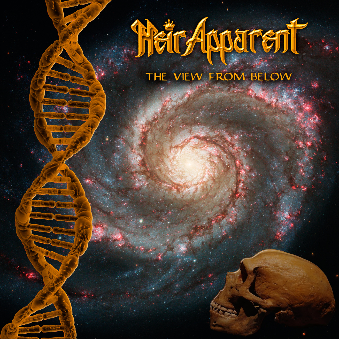 HEIR APPARENT - The View From Below (15 octobre 2018) Heir_apparent_cover