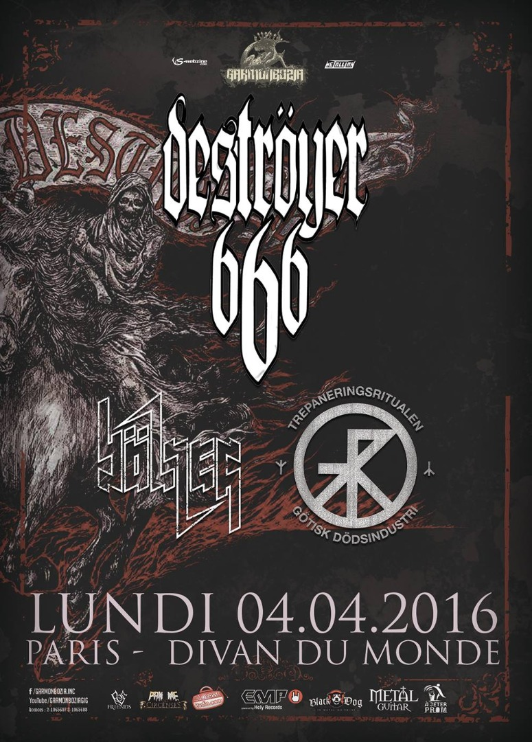 Destr yer 666 b lzer divan du monde webzine metal hxc for Divan du monde